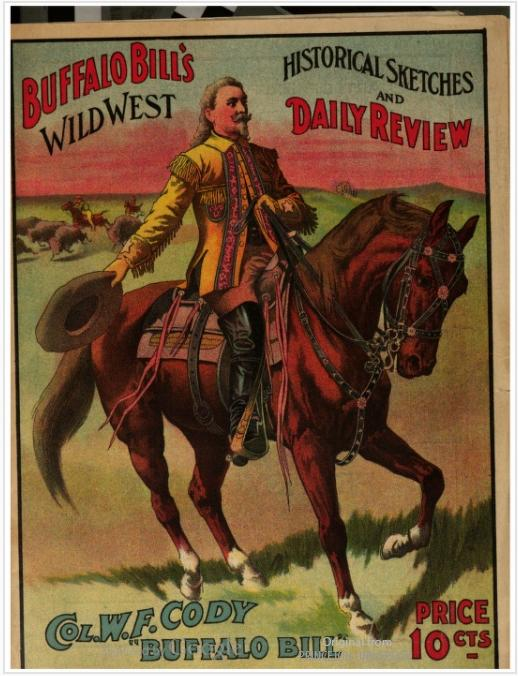 From: Buffalo Bill's Wild West : historical sketches and daily review. Cincinnati : Strobridge Litho. Co., 1907.