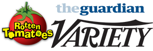 Rotten Tomatoes, The Guardian, Variety logos