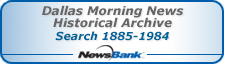 Dallas Morning News Historical Archive