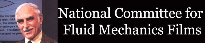 Logo for the National Committee of Fluid Mechanics Film Collection