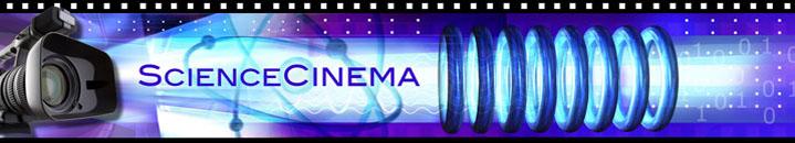 Logo for Science Cinema