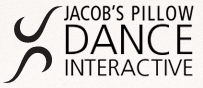 Logo for Jacob's Pillow Dance Interactive