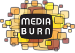 Logo for Media Burn