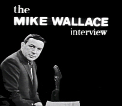 Logo for the Mike Wallace interview