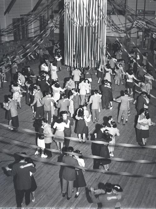 Heart Mountain High School Dance, March 17, 1944