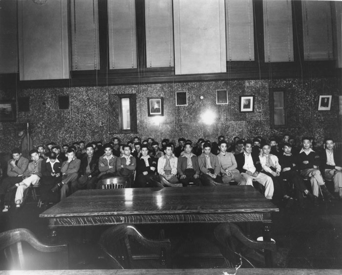 Heart Mountain Draft Resisters, June 12, 1944.