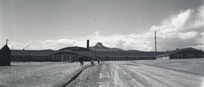 Heart Mountain High School, 1940's