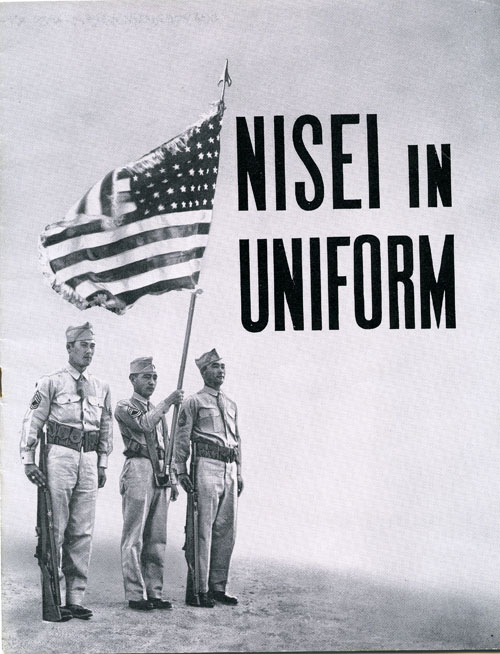 "Cover: ""100th Infantry,"" Nisei in Uniform, 1843"