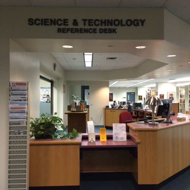 The Sci/Tech Reference desk