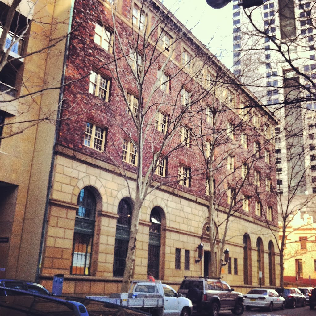NYU Sydney view of the building from outside.
