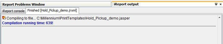 iReport Add Text Field Compile Report