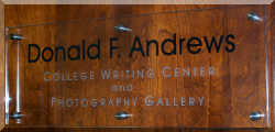Donald F. Andrews College Writing Center and Photographic Gallery