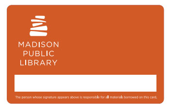 Madison Public Library Card