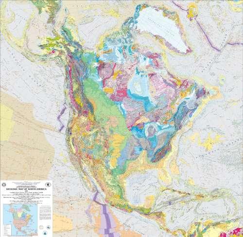 geologic map of us