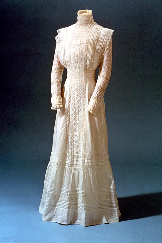 Edwardian women's lingerie dress