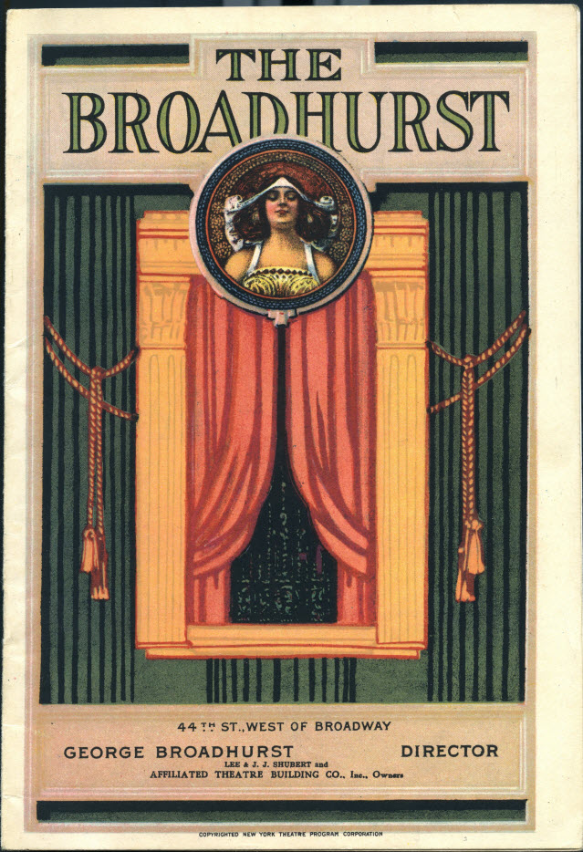 Broadhurst Theatre playbill
