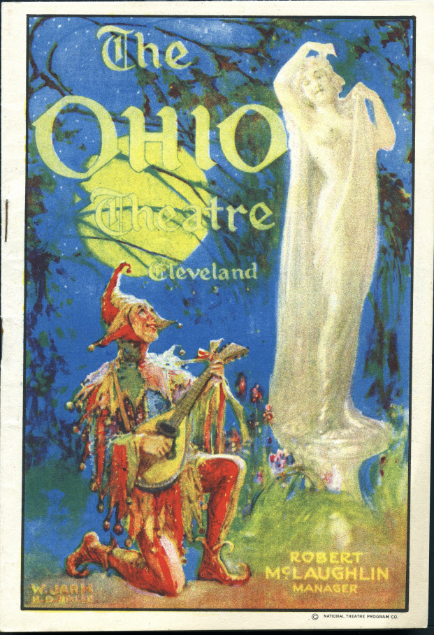 Ohio Theatre playbill