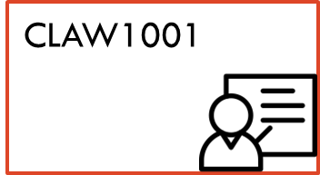 CLAW1001 materials