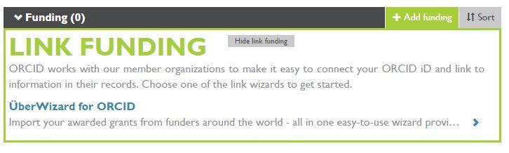Link funding