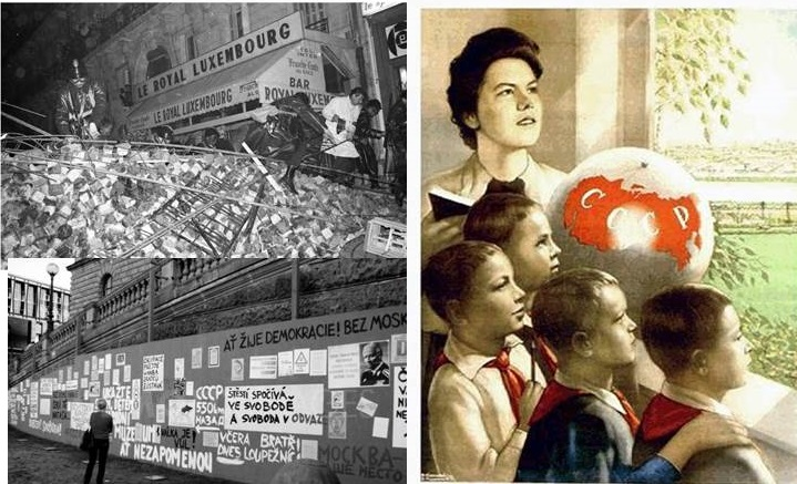 historical image collage
