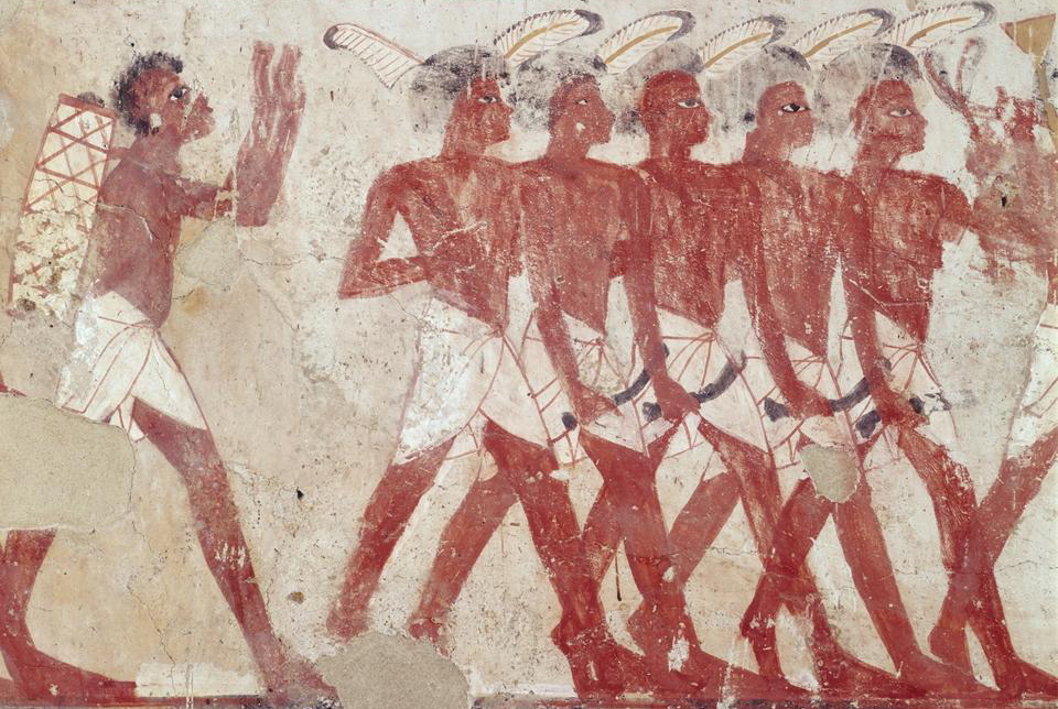 Necropolis of Sheikh Abdel Qurna, Tomb of Thaununy, Thebes