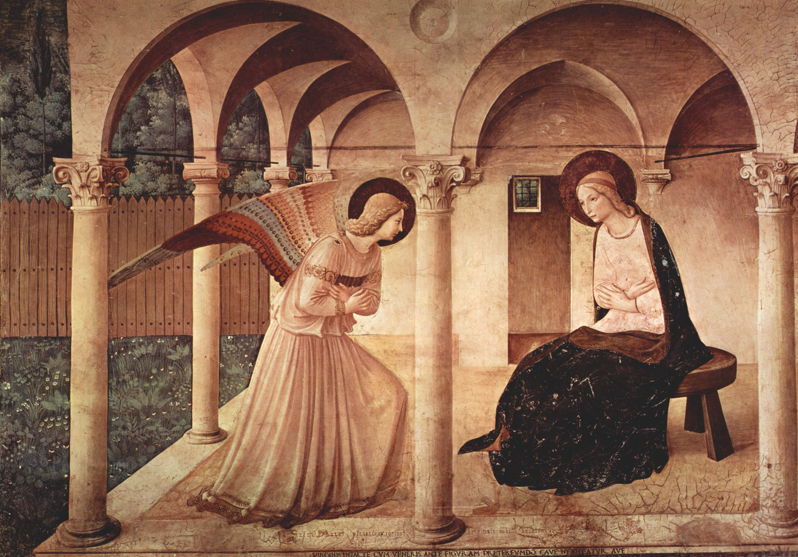 Fra Angelico, Annunciation, ca. 1440