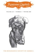 Renaissance Quarterly vol. XLI, no. 4
