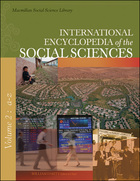 Macmillan International Encyclopedia of the Social Sciences