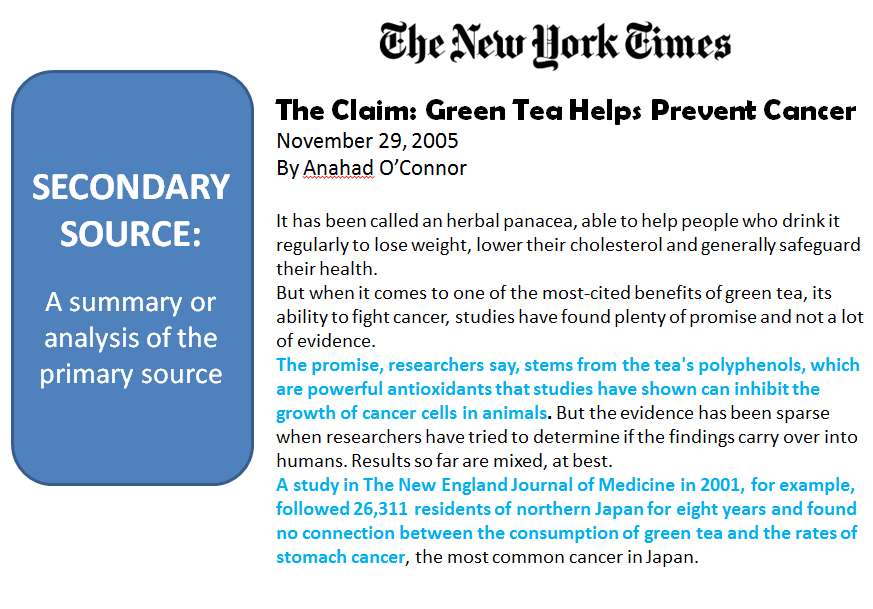 image shows an article from the New York times newspaper