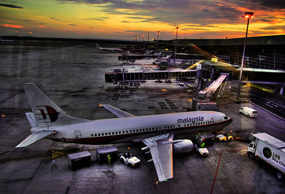 photo of planes in an airport