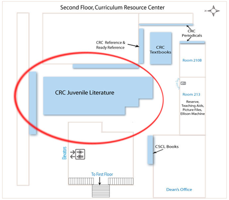 CRC collection map