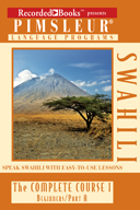 Cover of Pimsleur Swahili