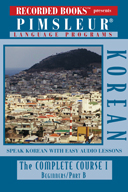Cover of Pimsleur Korean