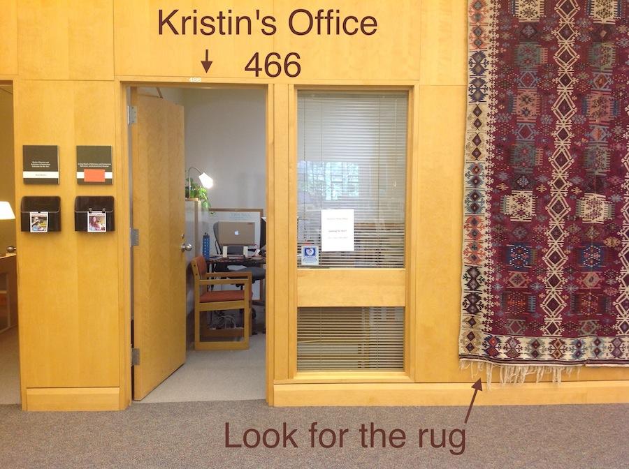Kristin's office