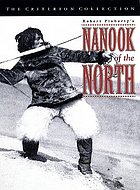 """Book cover for """"Nanook of the North"""""""
