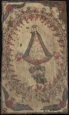 RU 210 / Nuestra Senora del Queretaro / Quill Pen Santero / ca 1830-50