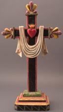 RU 277 / Cruz con la Sagrado Corazon / Gustavo Victor Goler / 1996