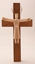 RU 353 / Risen Christ in front of Cross / Sabinita Lopez Ortiz