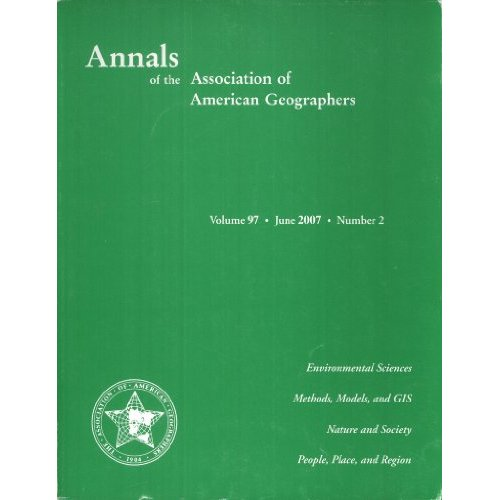 Annals of AAG