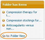 Folder has items column