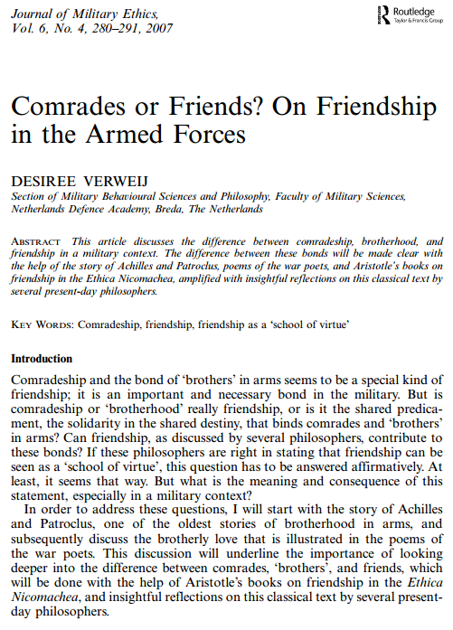 A journal article