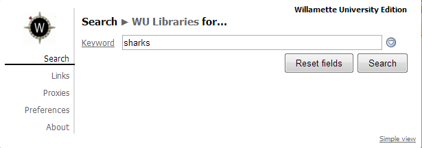 WU LibX Search Box
