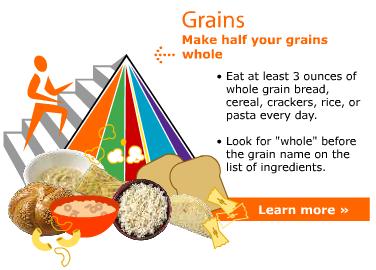 Make Half of your Grain Whole Logo