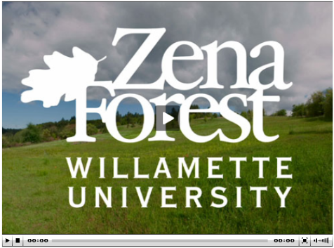 Zena Forest Willamette University Logo