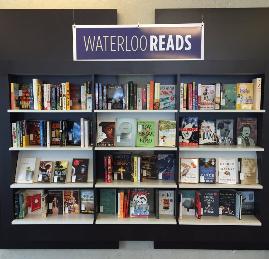 Waterloo Reads collection in the Dana Porter Library