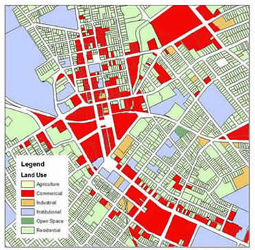 Sample Land Use Map