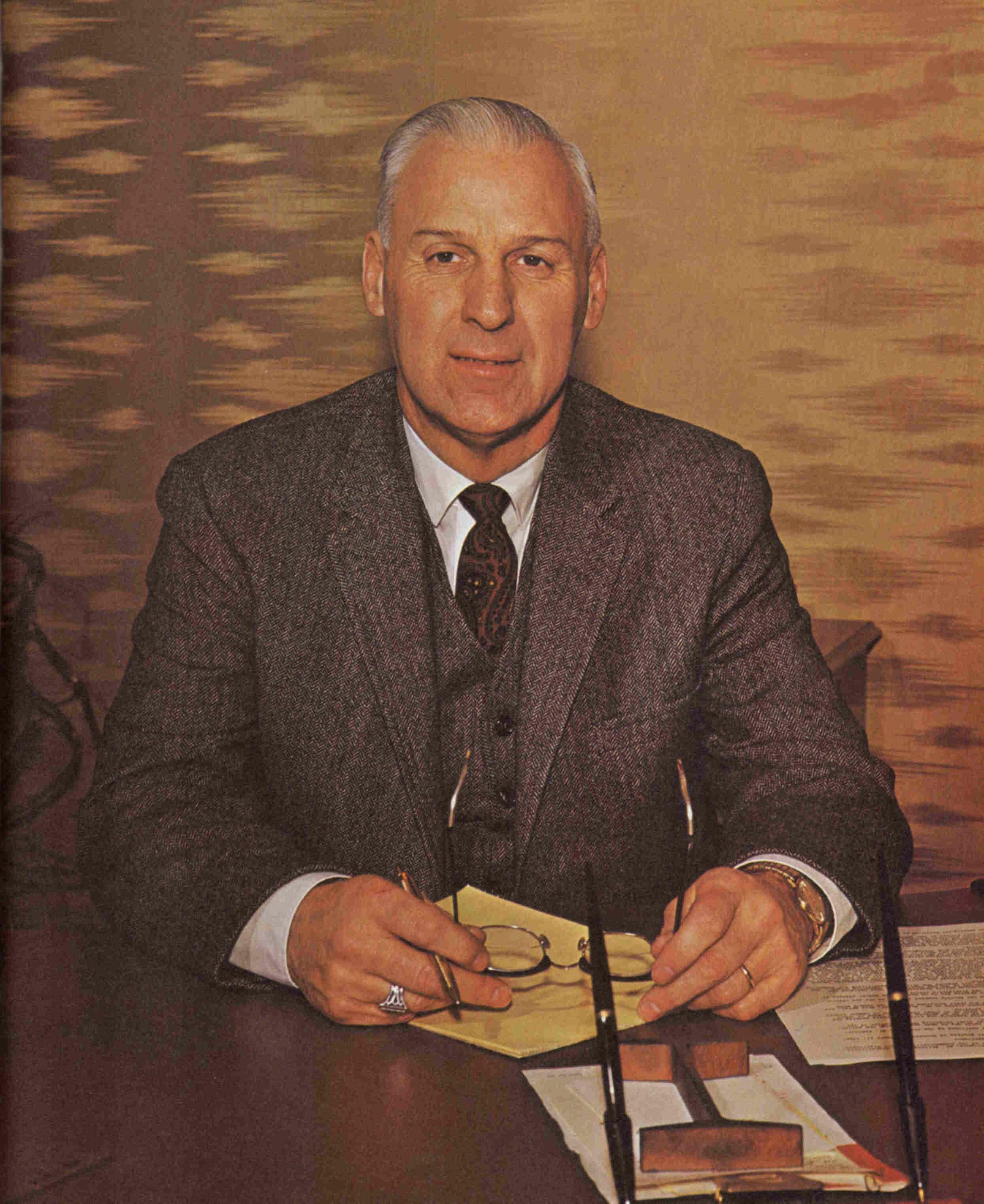 SUNY Erie College President James E. Shenton, 1968