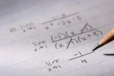 paper and pencil math problem