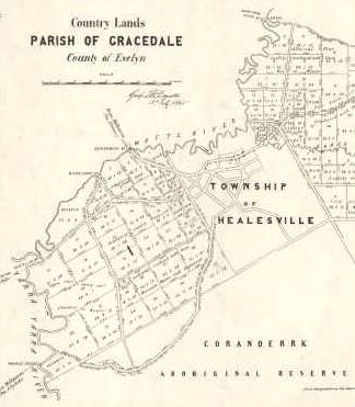 Country lands, Parish of Gracedale, County of Evelyn
