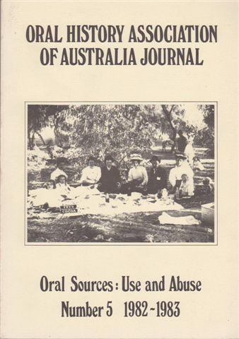 Oral History Association of Australia